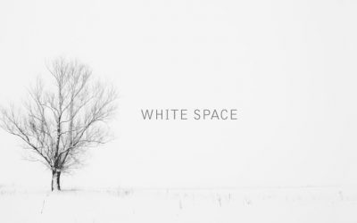 The Magic of White Space – A sprinkle of fairy dust for your brain